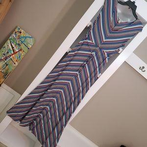 Jessica Simpson Maternity- Sleeveless, Maxi Dress!